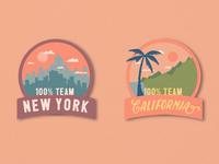 NY vs CA