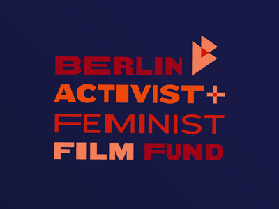 Berlin Activist and Feminist Film Fund fest film fund logo vector