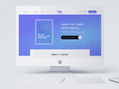 E-book Landing Page