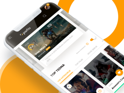 Mobile Homepage - Partis Redesign