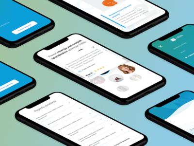 mBills - Mobile Wallet app landing page 2