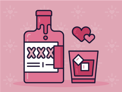 Sad Girls Valentine's Day Starter Pack: Item Three valentines xxx whiskey valentines day single sad girls liquor drunk drink alcohol