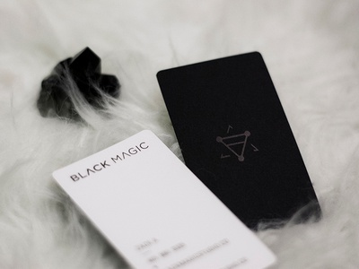 Black Magic Creative Business Cards
