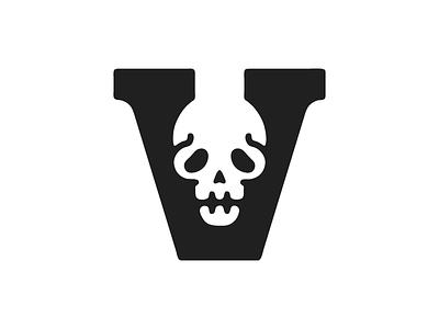 Voodoo Work In Progress #1 voodoo skull v typography custom death grim horror