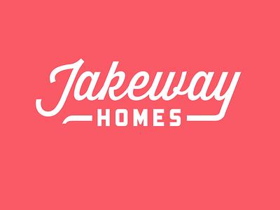 Jakeway Homes realtor logo red real estate realtor branding logo
