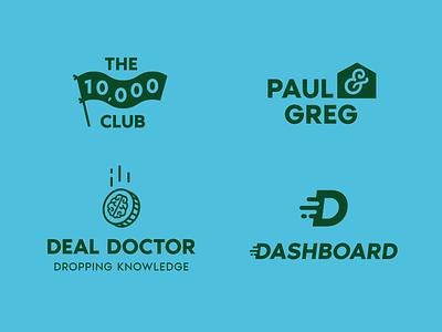 Livestream Logos vector livestream branding logo