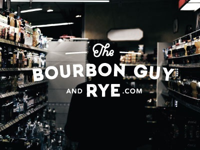 The Bourbon Guy and Rye logo