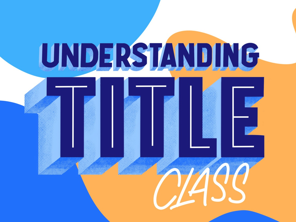 Understanding Title red title class lettering realtor real estate