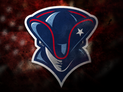 Patriots Logo patriots logo sports illustration patriotic america