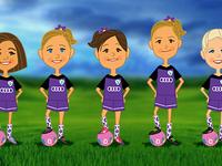 Soccer Girls!