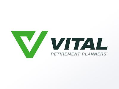 Vital Retirement Planners Logo logo