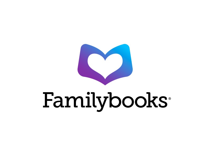 Familybooks print on demand family logo