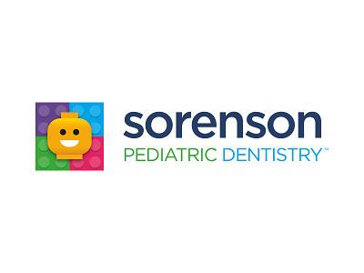 Sorenson Pediatric Dentistry Logo kids pediatric logo dentist lego