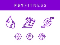 FSY Fitness Icons icons gym