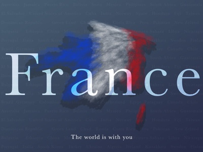 FRANCE WE ARE ONE