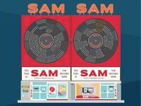 Toronto Landmarks # 2: Sam The Record Man