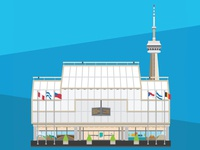 Toronto City Landmarks Series #4- Convention Centre & CN Tower