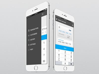 Metrics Global Payment App – 2016 bank transaction mobile card payment app ux ui payment