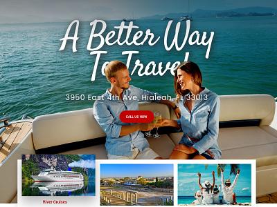 Travel Luxury websitedesign user-friendly design branding