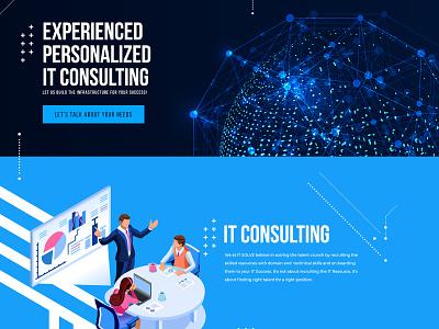 IT Solve websitedesign user-friendly design branding
