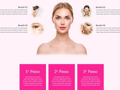 Glow Your Skin illustration websitedesign user-friendly design branding
