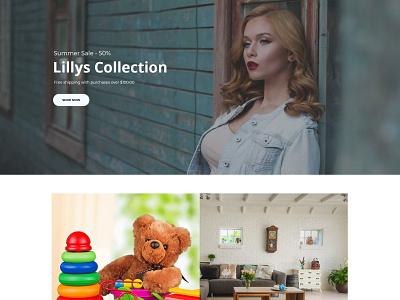 Lillys Collection logo websitedesign user-friendly design branding