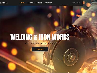 Welding & Iron Works websitedesign user-friendly design branding