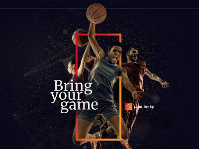 Chioni Sports logo websitedesign user-friendly design branding