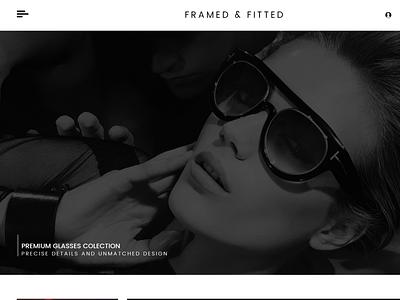 Framed & Fitted ux ui websitedesign user-friendly design branding