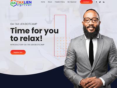 TAXLIEN websitedesign user-friendly design branding