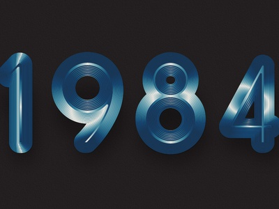 1984 Titanium Blue
