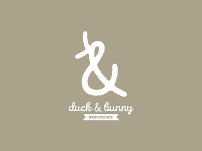 Duck & Bunny - Logo Concept