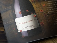 High quality catalog for Loire's region wines - Internal page
