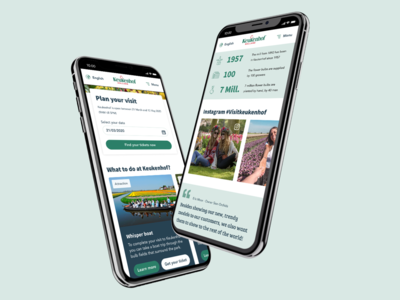 Mobile first pitch design