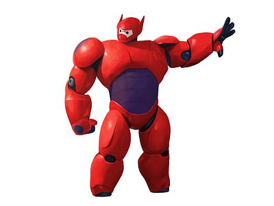 Bah-a-la-la-la procreate ipadpro painting digital painting digital art digital art illustration character design character big hero 6 baymax