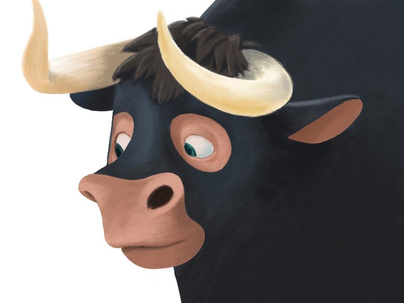 Ferdinand illustration procreate ipad ipadpro drawing art character design ferdinand