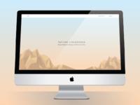 Portfolio site idea