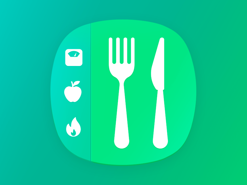 Calorie Tracker Main Icon bmi diet lose weight weight loss counter tracker calorie