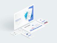 Peertal social network - General UI