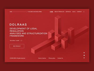 Concept of Dolraas Design application dribbblers photoshop graphic 2d illustration webdesign design cool minimal ux ui