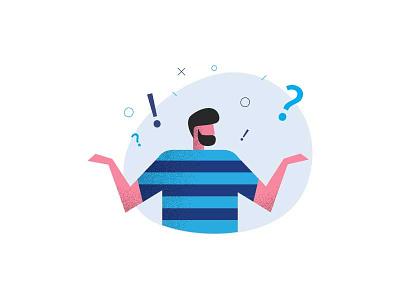 Q&A answer question illustration qa