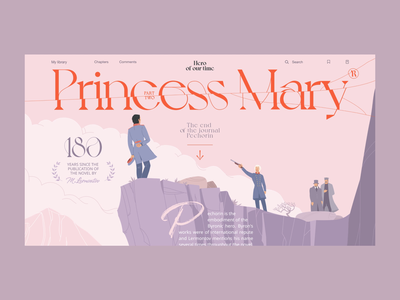Princess Mary promo fashion special branding magazine illustration ui web design projects