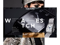 TOM FORD — WATCHES