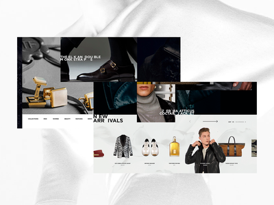TOM FORD — NEW ARRIVALS portfolio ui promo design web projects