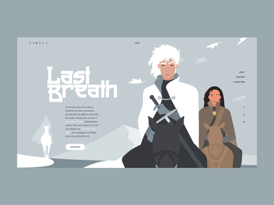Last Breath dribbble art motion character flat design projects vector illustration