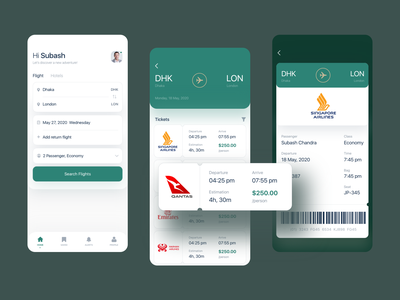 Flight and Hotel Booking App app designer minimal app design mobile app development mobile app mobile app design app ui app ui kit app ui design app design app hotel app hotel booking hotels flights flight booking app flight ticket flight search flight booking flight app flight