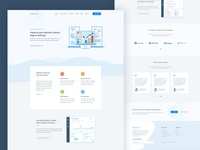 SEO Application Landing Page