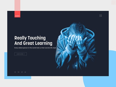 Oldest Inspirational Story ux ui typography landing page new trend gradient google product design design creative color oldest