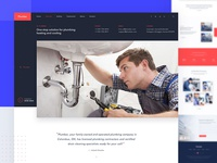 Plumbing Service Home Page
