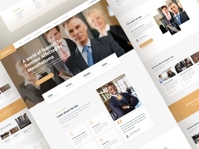 Website Design for Law Office law lawyer minimalistic ui web webdesign website advocate law firm lawyers landing landing page